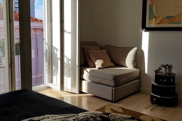Green Lounge at Tinge Lisbon - French Door