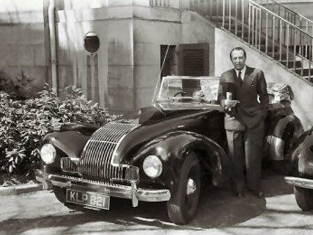"""The double agent Dusko Popov, given the codename """"Tricycle"""" by MI5, was a womaniser and gambler, with a taste for champagne and sports cars."""