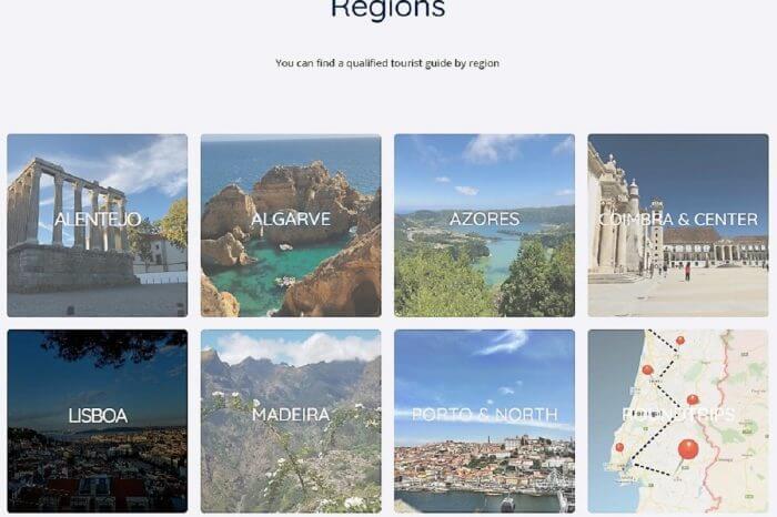 2: Select Lisbon ....
