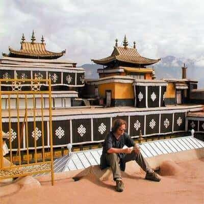 jokhang monastary lhasa tibet