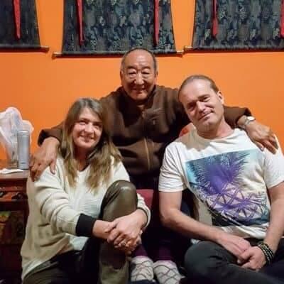 with lakha lama rinpoche