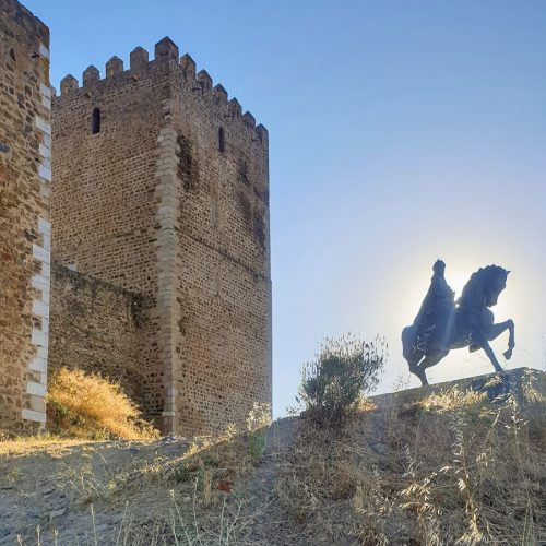 Castelo de Mértola is not topping our list of Portugal's more than 50 castles.  Go there for the amazing view.