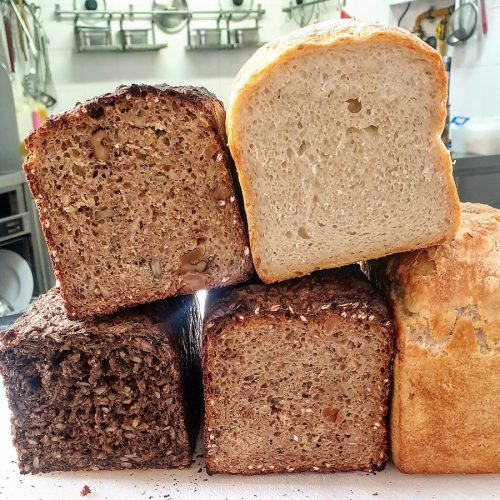 We have NEVER served so much bread before in our whole life! The  Dane's craving for Rye Bread has been a huge challenge please. But we just get up a few hours earlier every morning.